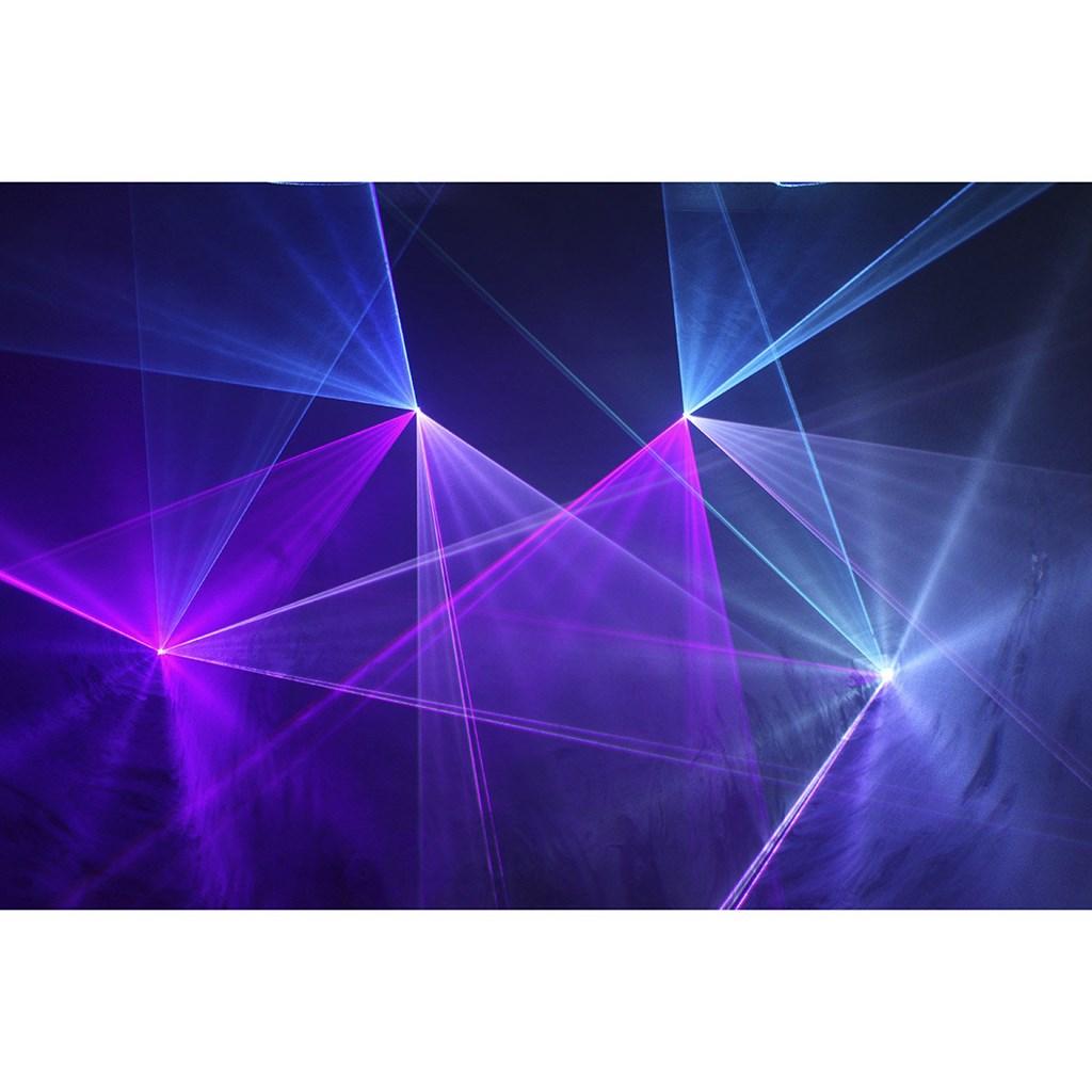 MACHINE LASER MULTICOLORE - KUB 1500 RGB - BOOMTONE DJ